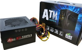 ATNG ATM-550FB 550W 80+ Bronze PSU