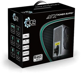 Ace Grey 520W PSU