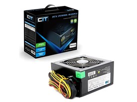 CiT Black 650W Power Supply
