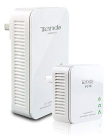 Tenda PW201A+P200 WiFi Powerline Kit