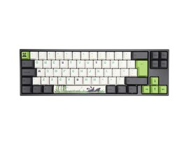 Ducky x Varmilo MIYA Pro Panda Edition USB Mechanical Keyboard (Black) with Cherry MX Brown Switches, White LED