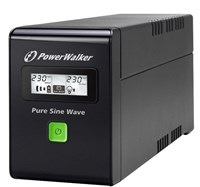 PowerWalker VI 600 SW/UK Pure Sine Wave IEC UPS 360W