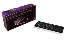 Qwerty Combo 2.4GHz Ultra 3-in-1 Mini Backlit Wireless Keyboard
