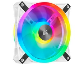 Corsair iCUE QL120 RGB (120mm) White PWM Cooling Fan