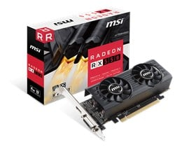 MSI Radeon RX 550 4GB Graphics Card