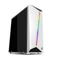 1st Player Rainbow R3 Mini Tower Gaming Case - White USB 3.0