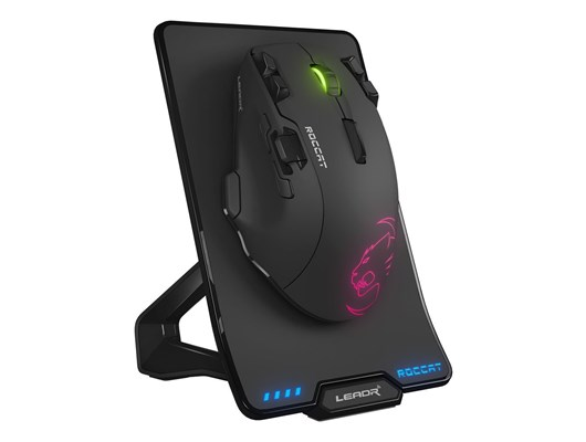 Roccat Leadr Wireless Optical RGB Gaming Mouse (Black)