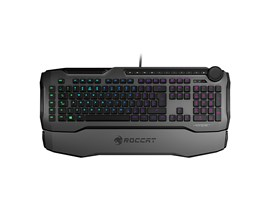 Roccat Horde AIMO Membranical RGB Gaming Keyboard, Gray (UK QWERTY)