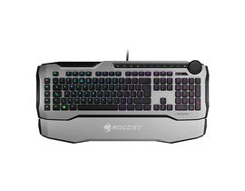 Roccat Horde AIMO Membranical RGB Gaming Keyboard, White (UK QWERTY)