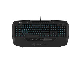 Roccat Isku+ Force FX RGB Gaming Keyboard with Pressure-Sensitive Key Zone *Open Box*