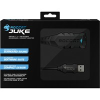 ROCCAT Juke Virtual Surround Sound 7.1 + USB Stereo Soundcard & Headset Adapter (ROC-14-110)