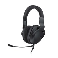 ROCCAT Cross Multi-platform Over-ear Stereo Gaming Headset with Dual Detachable Microphones (Black)