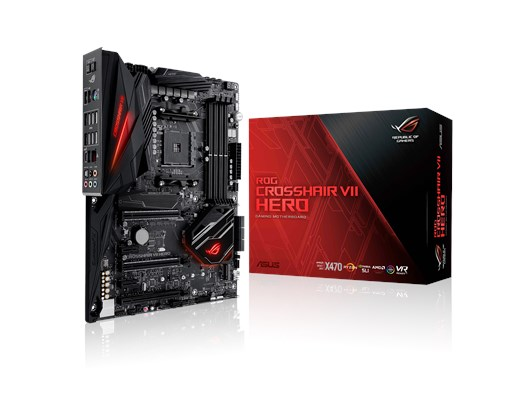 ASUS ROG CROSSHAIR VII HERO AMD Motherboard
