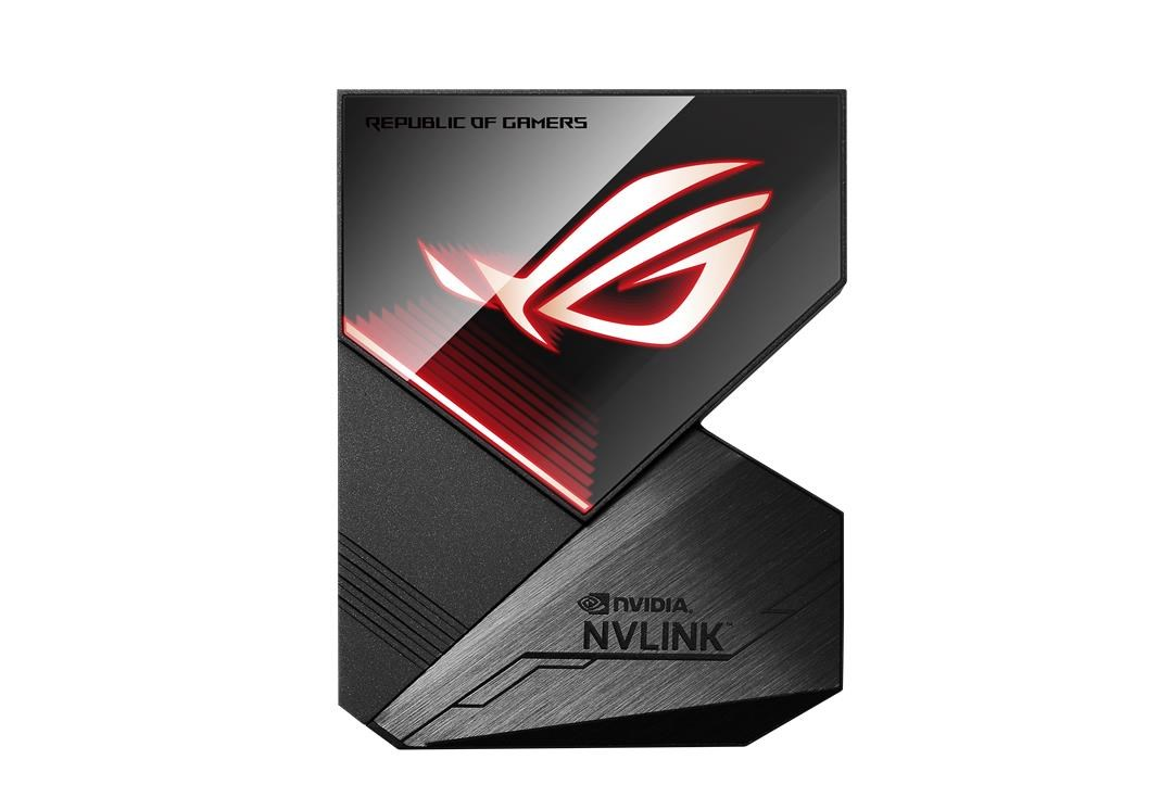 Asus ROG-NVLINK 4-Slot Bridge with RGB Lighting for RTX