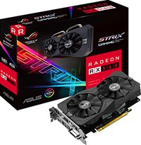 ASUS Radeon RX 560 4GB Strix Edition Graphics Card