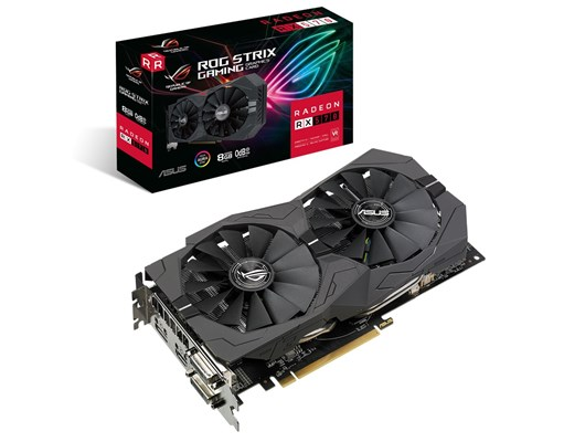 ASUS Radeon RX 570 ROG Strix 8GB Graphics Card