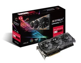 ASUS Radeon RX 580 ROG Strix 8GB Graphics Card