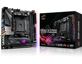 ASUS ROG STRIX X470-I GAMING AMD Motherboard