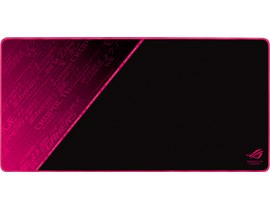 ASUS ROG Sheath Electro Punk Mouse Pad in Black and Pink