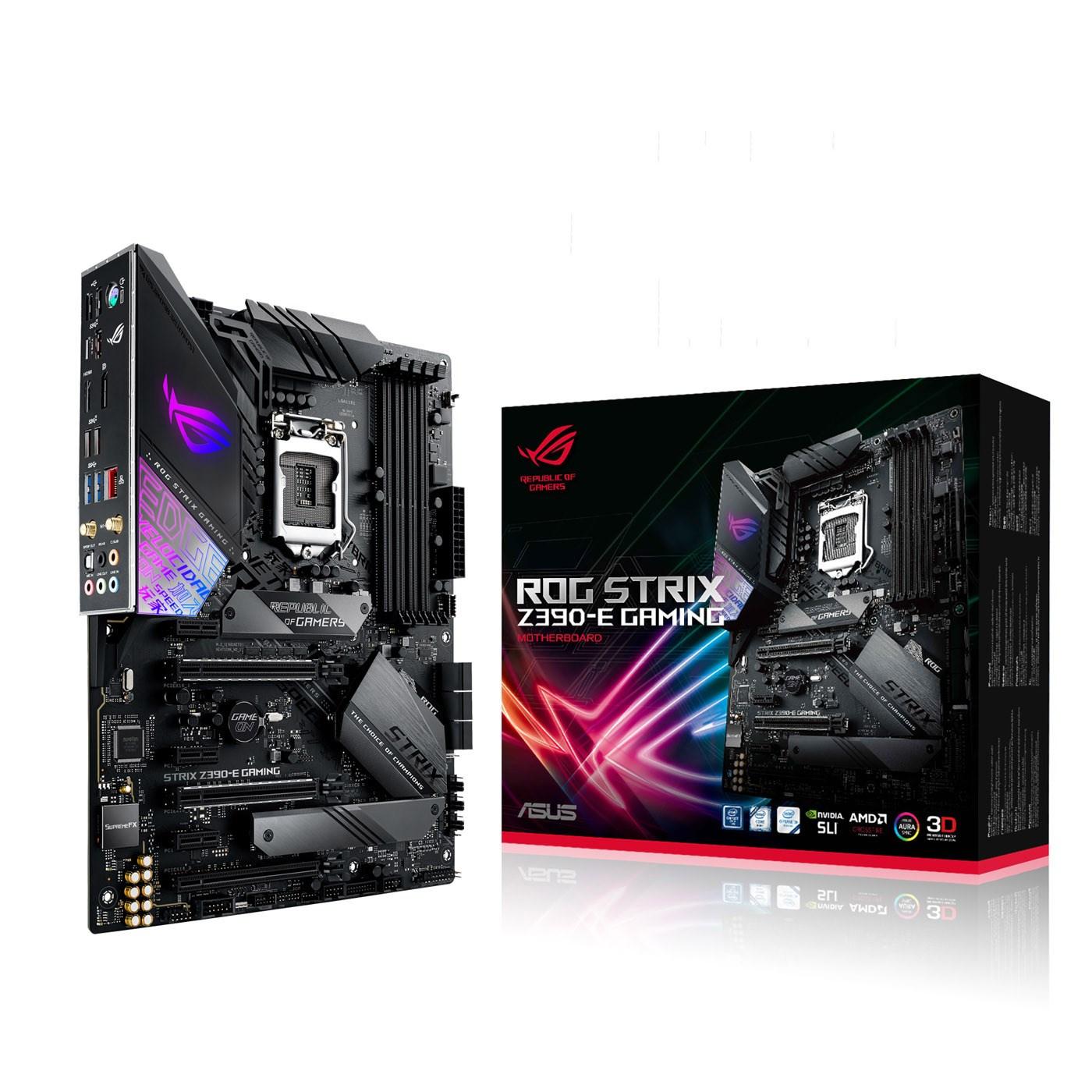 ASUS ROG STRIX Z390-E GAMING ATX Motherboard for Intel LGA1151 CPUs