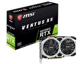 MSI GeForce RTX 2060 Ventus XS 6GB OC GPU