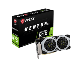 MSI GeForce RTX 2080 Ventus V2 8GB Graphics Card