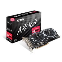 MSI Radeon RX 580 8GB ARMOR Graphics Card