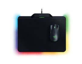 Razer Mamba Hyperflux Wireless Charging Wireless Gaming Mouse with Firefly Hyperflux Wireless Charging Mouse Mat