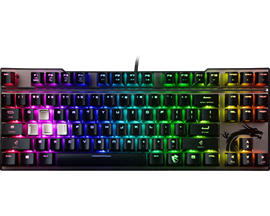 MSI Vigor GK70 RGB Tenkeyless Mechanical Gaming Keyboard