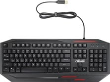 ASUS Sagaris GK100 Gaming Keyboard with 7 Colour LED Backlighting