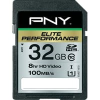 PNY 32GB Elite Performance SDHC Card Class 10 UHS-1