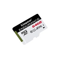 Kingston High Endurance 64GB UHS-I U1 Class 10 microSDXC Card