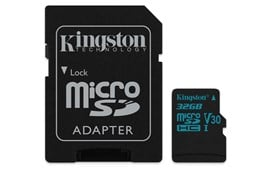 Kingston Canvas Go! 32GB UHS-1 (U3) microSD Card