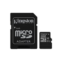 Kingston Canvas Select (16GB) MicroSD Card Class 10 UHS-1 U1 with Adaptor