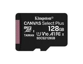 Kingston Canvas Select Plus 128GB UHS-1 (U1)