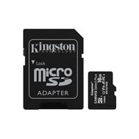 Kingston Canvas Select Plus 16GB microSDHC Memory Card with SD Adapter