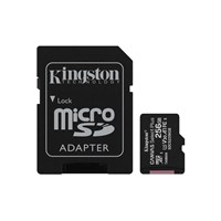 Kingston Canvas Select Plus 256GB microSDXC Memory Card with SD Adapter