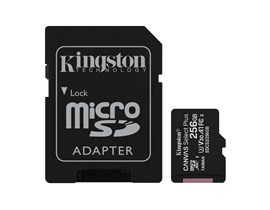 Kingston Canvas Select Plus 256GB UHS-1 (U3)