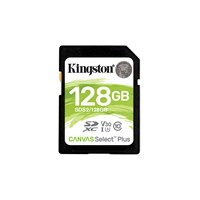 Kingston Canvas Select Plus 128GB Class 10 UHS-I SDXC Memory Card