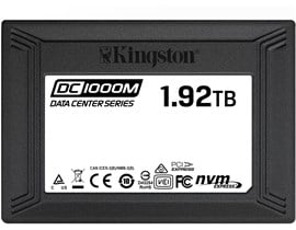 "Kingston DC1000M 1.9TB 2.5"" U.2 SSD"