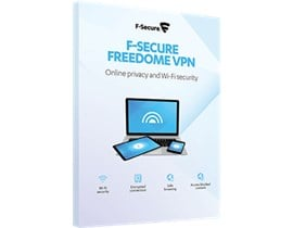 F-Secure Freedome VPN (1 Year, 3 Devices) Retail