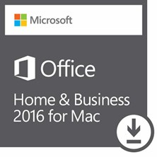 Microsoft Office Home Business 2016 for Mac - Electronic Software Download (ESD)