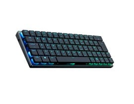 Cooler Master SK621 Low Profile Mechanical Bluetooth Keyboard with Cherry MX Red Switches, RGB Backlit