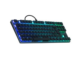 Cooler Master SK630 Low Profile RGB TKL Keyboard - Cherry MX Red Switches