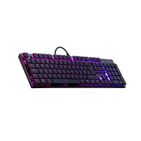 Cooler Master SK650 Low Profile Mechanical Keyboard with Cherry MX Red Switches, RGB Backlit, Chiclet Keys