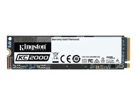Kingston KC2000 500GB M.2-2280 NVMe PCIe SSD