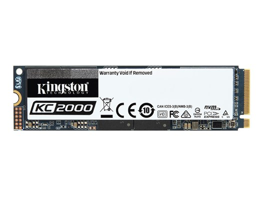 Kingston KC2000 500GB M.2-2280 PCIe 3.0 x4 NVMe