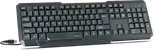 SPEEDLINK Scripsi USB PC Full-size Keyboard, UK Layout (Black)