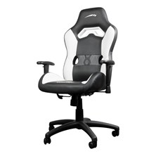 SpeedLink Looter Gaming Optimised Chair with 360 Degree Swivel (Black/White)