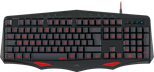 SPEEDLINK Lamia Ergonomic Illuminated Gaming Keyboard, UK Layout (Black)